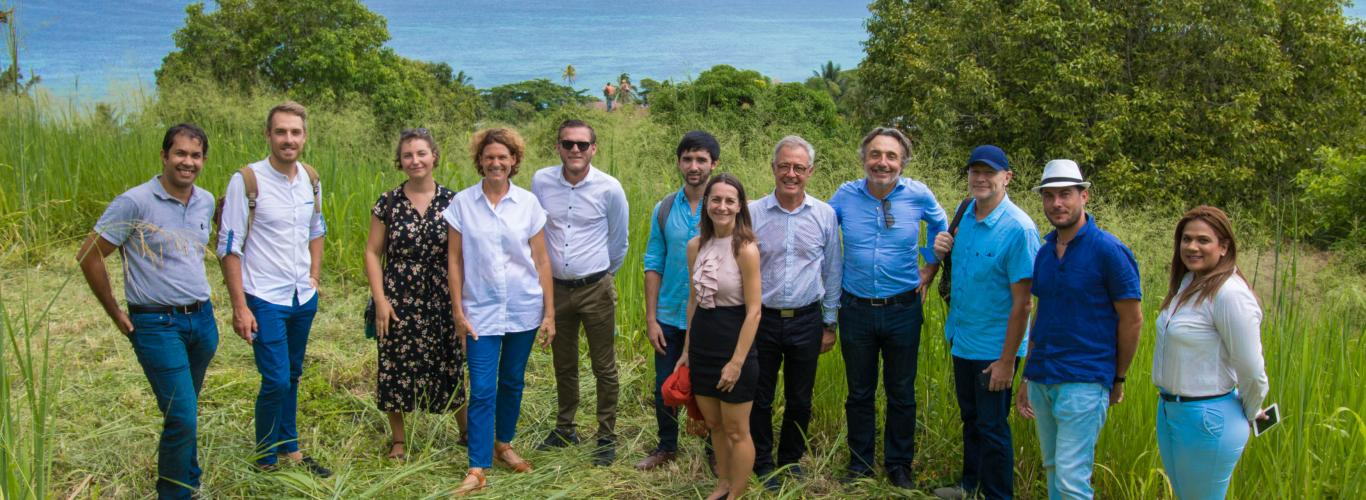 The CCIFM Visits Anbalaba, the Southern Mauritius Real Estate Program